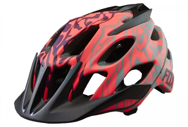 casque all mountain fox flux violet rose