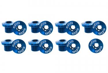 a2z vis plateaux x5 anodisees bleu vis petit plateau