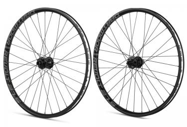 paire de roues vtt dartmoor revolt 27 5 axe 15mm 12x135mm noir
