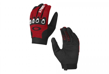 gants longs oakley automatic 2 0 rouge