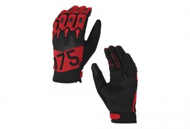gants longs oakley overload 2 0 rouge noir