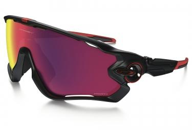 lunettes oakley jawbreaker noir rouge prizm road ref oo9290 2031