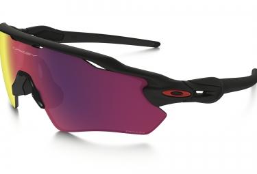 oakley lunettes radar ev path noir mat rouge prizm road ref oo9208 4638