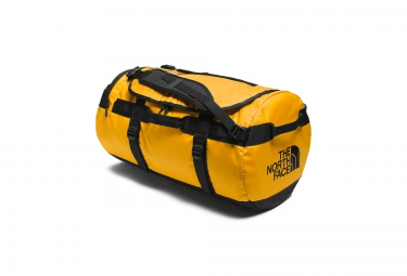 sac de sport the north face duffel base camp jaune 69l m