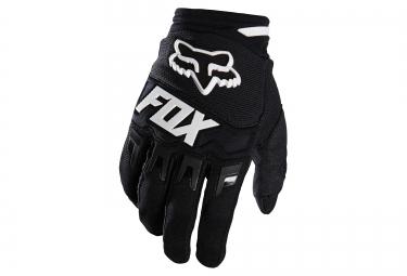 gants longs fox dirtpaw race noir