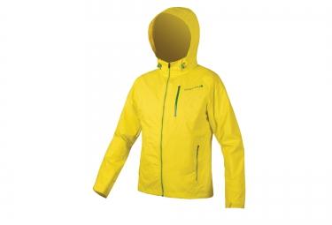 veste impermeable endura singletrack jaune