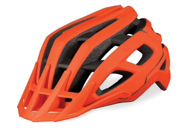 endura casque singletrack orange