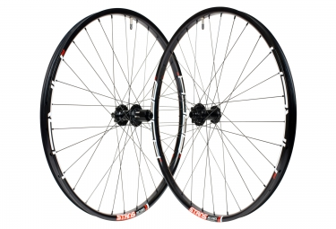 paire de roues notubes ztr arch mk3 neo 27 5 15mm 12x142mm corps shimano sram 2016 n