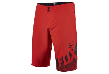 short de sport fox altitude rouge