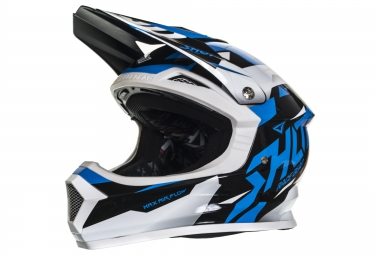 casque integral enfant shot furious splinter bleu