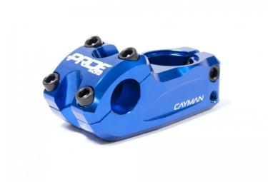 potence top load pride racing cayman longueur 54mm bleu