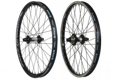 paire de roues pride racing rival pro sx 20 noir