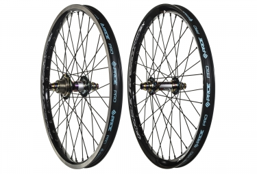 paire de roues pride racing rival pro sx 20 oil slick