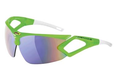 paire de lunettes northwave zeus vert blanc