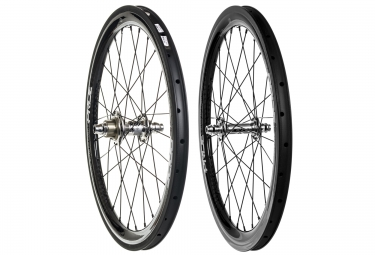 paire de roues pride racing highmod 12k expert carbon oil slick