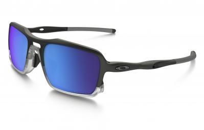 lunettes oakley triggerman noir bleu iridium polarise ref oo9266 04