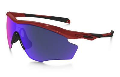 lunettes oakley m2 frame xl rouge violet iridium oo9343 06