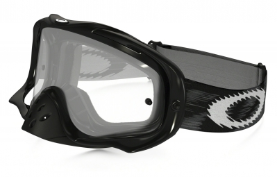 masque oakley crowbar mx noir transparent ref 57 951