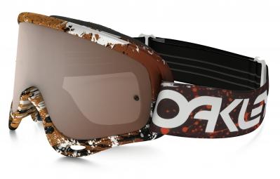 masque oakley o frame mx marron noir iridium ref oo7029 28