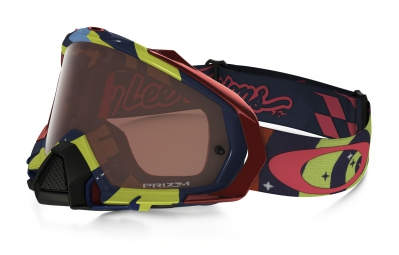 masque oakley mayhem pro mx tld rouge marron prizm mx ref oo7051 39