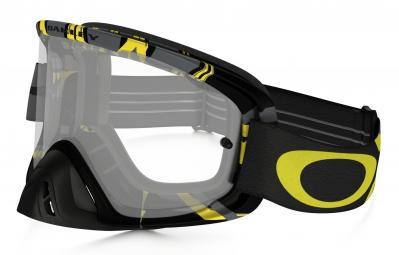 masque oakley o2 mx noir transparent ref oo7068 08