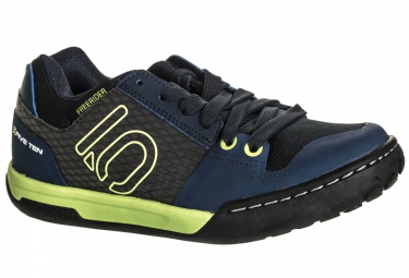 chaussures vtt five ten freerider contact junior 2016 bleu vert