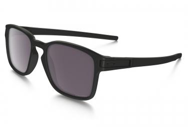 lunettes oakley latch square noir mat prizm daily polarise ref oo9353 02