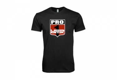 t shirt usa bmx pro 1 shield noir