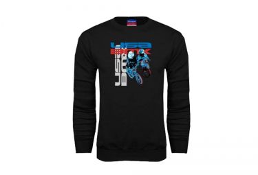 sweat usa bmx riders noir