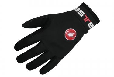 gants hiver castelli lightness noir