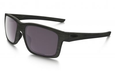 lunettes oakley mainlink woodgrain collection marron gris prizm daily polarise ref o