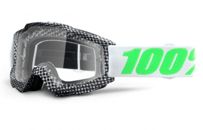100 masque accuri newsworthy noir ecran iridium vert