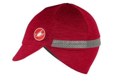 casquette castelli risvolto rouge