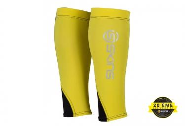 manchons de compression skins essentials jaune