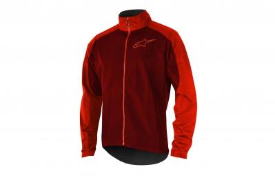 veste coupe vent alpinestars descender 2 rouge