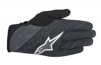 gants alpinestars stratus noir gris