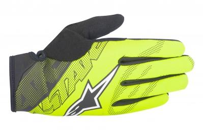 gants alpinestars stratus jaune noir