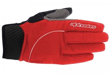 gants alpinestars nimbus rouge