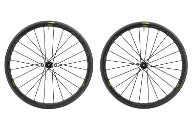 paire de roues mavic 2017 ksyrium elite disc shimano sram yksion pro 25mm