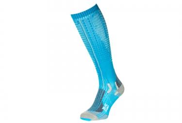 paire de chaussettes de compression femme x bionic effektor competition bleu