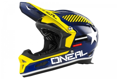 casque integral oneal fury rl afterburner 2016 bleu