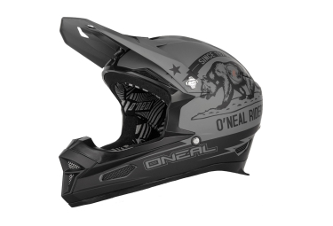 casque integral oneal fury rl california 2016 noir gris