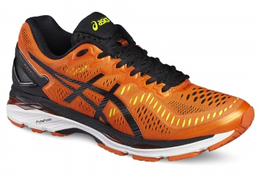 asics kayano 23 noir orange