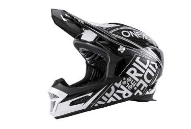 casque integral oneal fury rl fuel 2016 blanc noir
