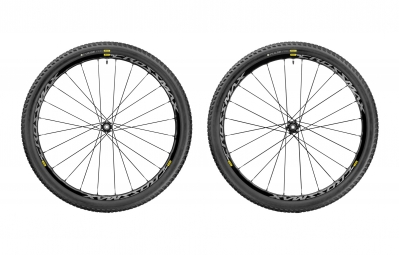paire de roues mavic 2017 crossmax elite wts 29 boost 15x110 mm 12x148 mm corps shim