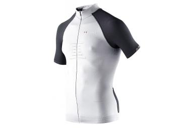 x bionic maillot manches courtes race bt 2 2 blanc noir