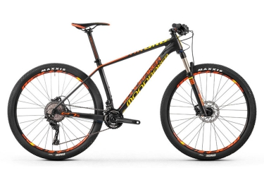 vtt semi rigide mondraker 2016 chrono carbon pro 27 5 noir jaune orange