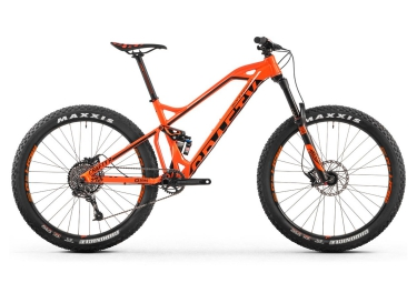 vtt tout suspendu mondraker 2016 crafty r 27 5 sram gx 1x10v orange