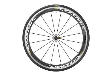roue avant mavic 2017 cosmic pro carbon blanc yksion pro 25mm