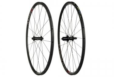paire de roues asterion carbone sport 24t boyau corps shimano sram